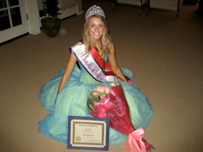Pre-Teen Miss Seal Beach Princess 2007